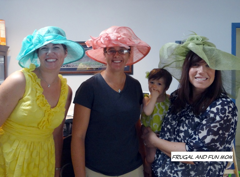 Moms at Tea Party