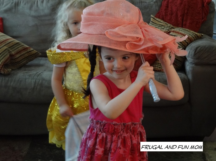 Tea Party Fun with Hats