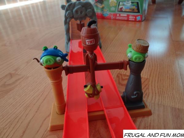 Angry Birds GO! Telepods Pig Rock Raceway Set Piggies