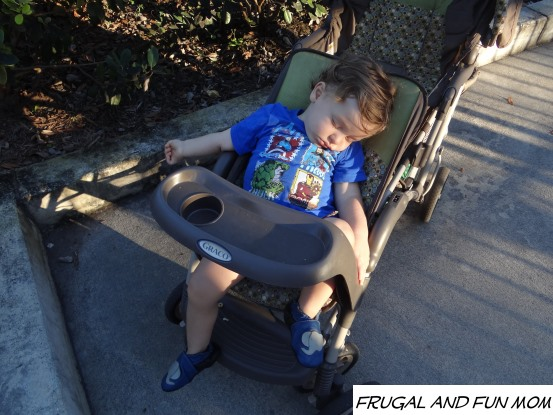 Sleepy Baby at Legoland