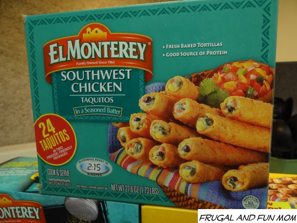 Southwest Chicken Taquitos El Monterey
