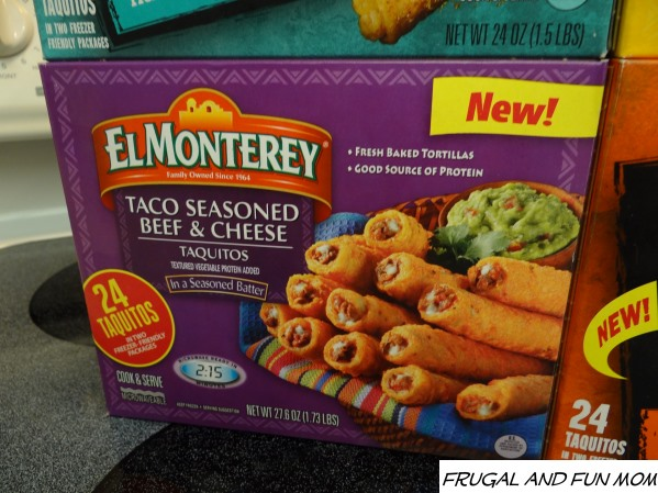 Taco Seasoned Beef & Cheese Taquitos El Monterey