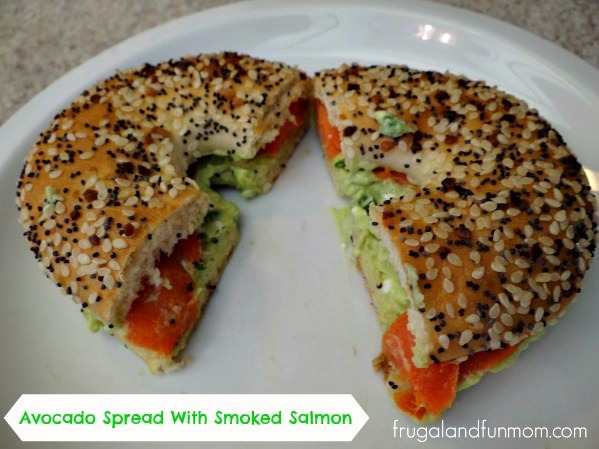Avocado Spread With Smoked Salmon