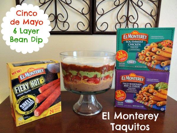 Cinco de Mayo with El Monterey Taquitos and Bean Dip Picture