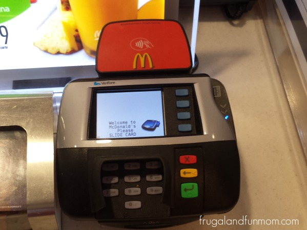 Paying at McDonald's with the ISIS Mobile Wallet