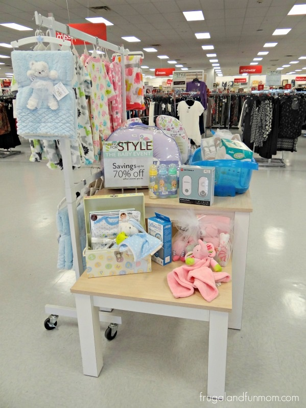 Display at Bealls Outlet Baby Event