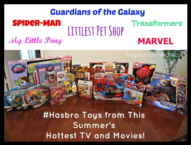 Hasbro toys for Christmas 2014 Movies and TV