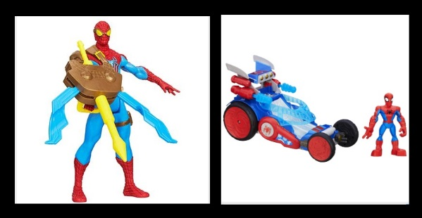 Marvel Spider Man Toys from Hasbro and Playskool