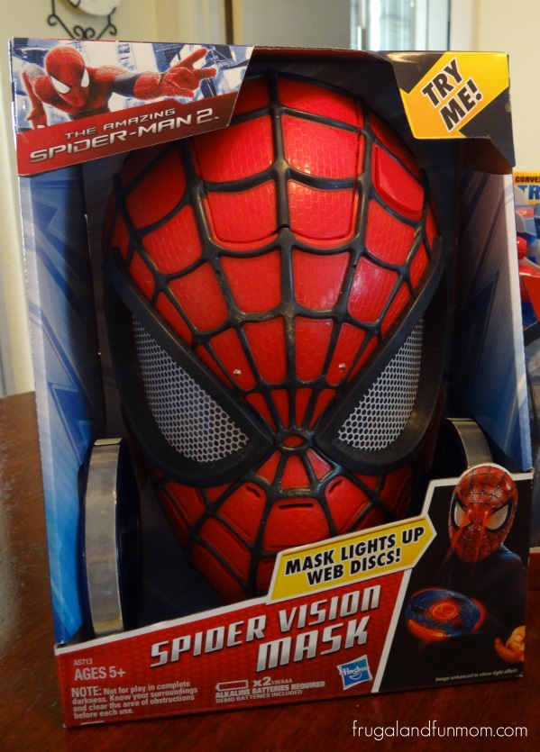 The Amazing Spider Man 2 Spider Vision Electronic Mask