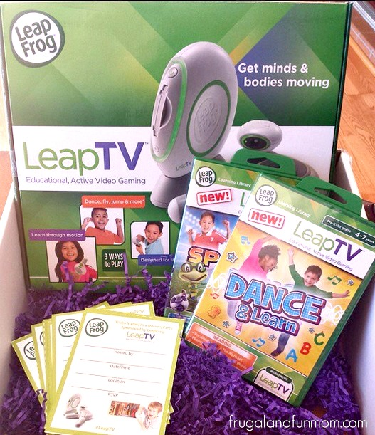 LeapFrog LeapTV, Gaming with Education and Exercise! #LeapTV MommyParty Event!