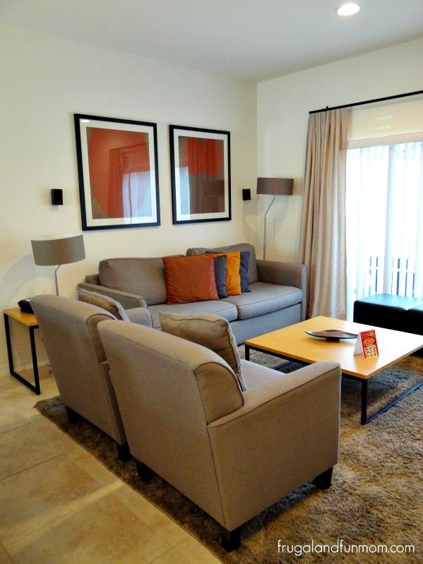 Encantada Resort Kissimmee Florida Living Room