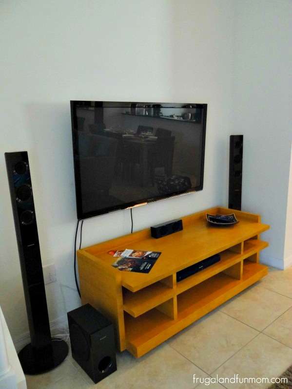 Encantada Resort Kissimmee Florida TV in Living Room