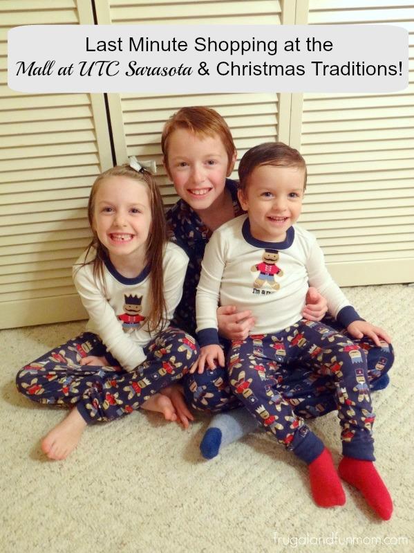 Holiday Traditions with Matching Christmas Pajamas