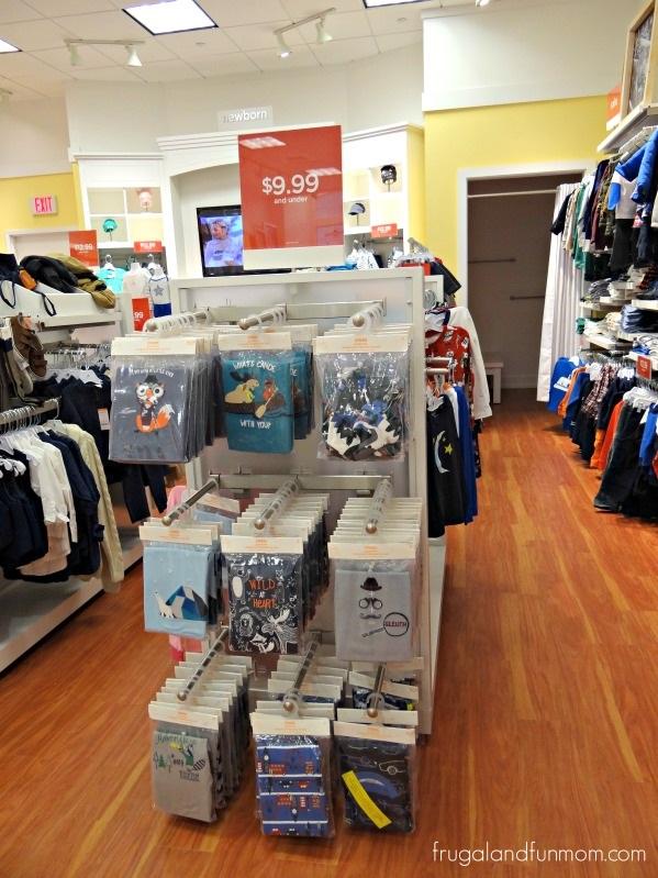 Shopping for Pajamas at Gymboree at teh UTC Mall Sarasota