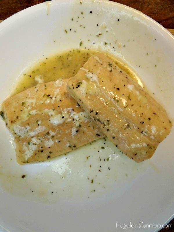 Gorton's Salmon Simply Bake