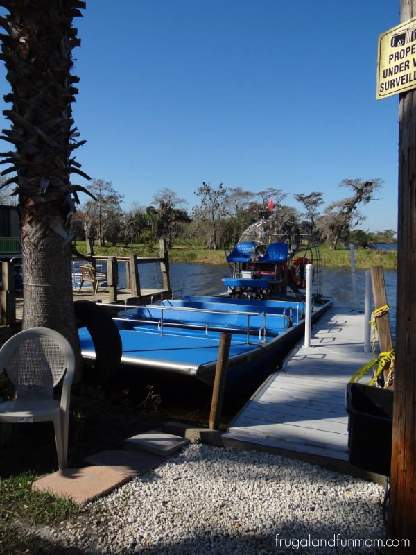Airboat at Black Hammock Airboat Adventures