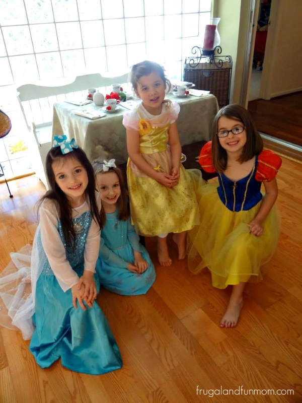 Princesses at the Disney Side Party