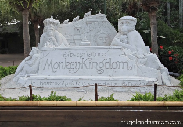 Animal Kingdom Monkey Kingdom Sand Sculpture
