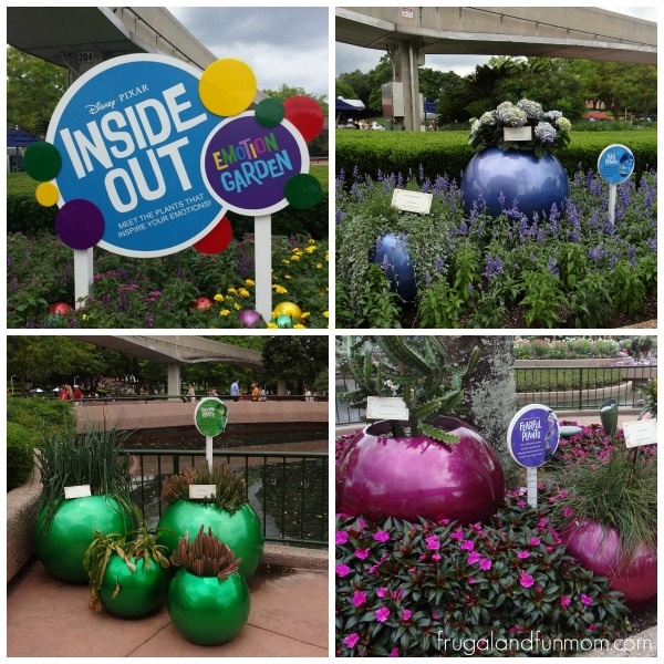 Inside Out Emotion Garden at Epcot