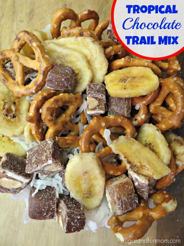 Tropical Chocolate Trail Mix Recipe