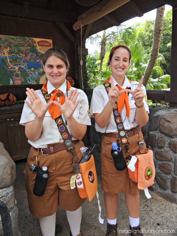 Wildrness Explorers Guide Cast Members