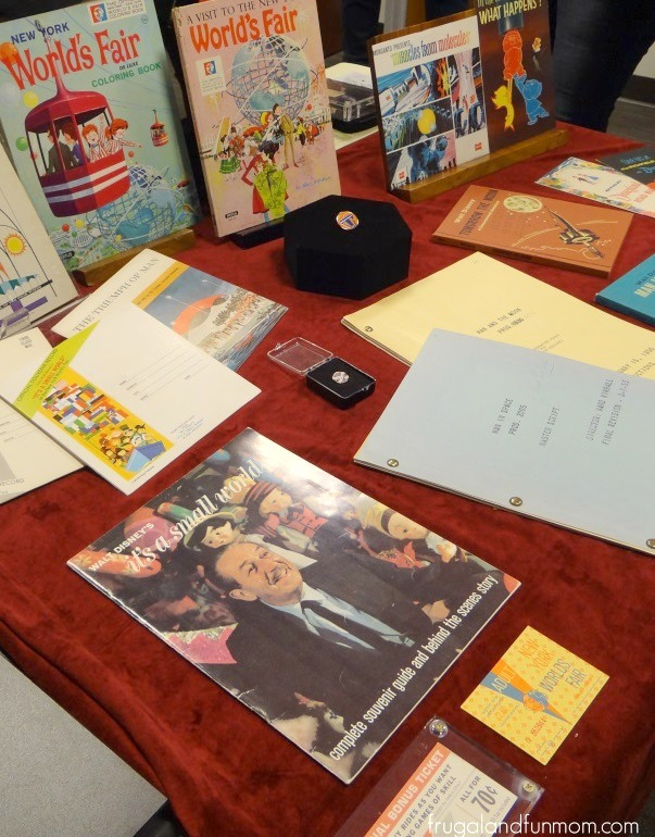 1964 1965 items World's Fair Walt Disney Archives