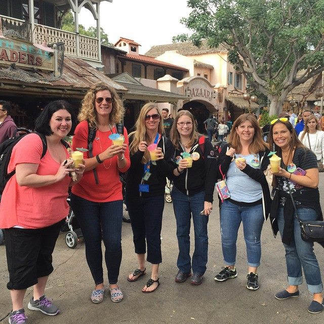 First Time Dole Whip at Disneyland