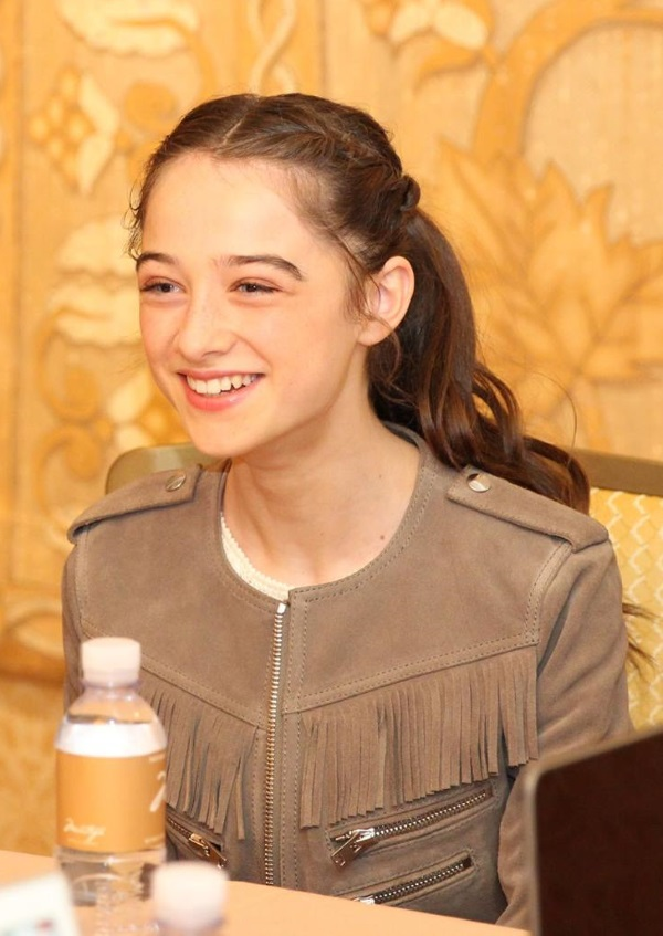 Raffey Cassidy Athena in Tomorrowland