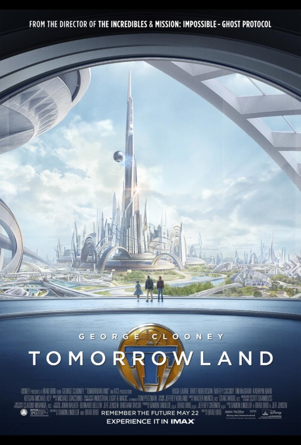 Tomorrowland poster with Frank Athena and Casey
