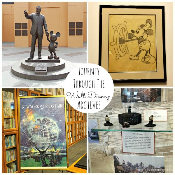 Visit to the Walt Disney Archives California