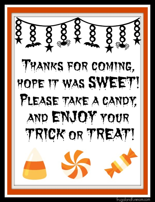 Party Flyer for Halloween #TrickOrSweet