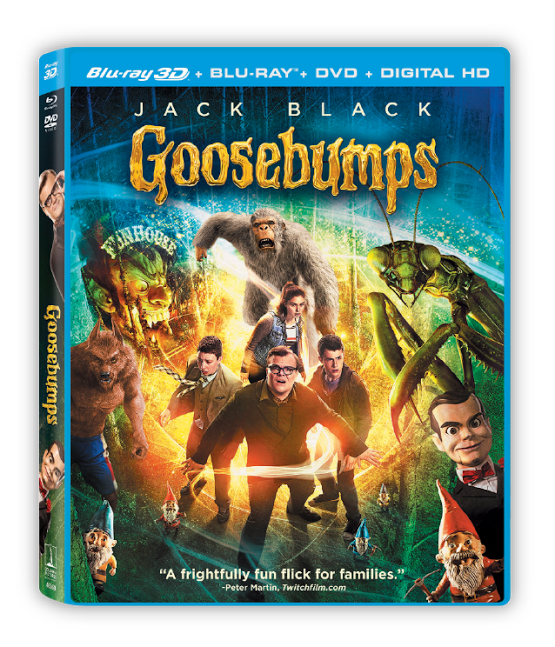 Goosebumps Movie DVD Cover
