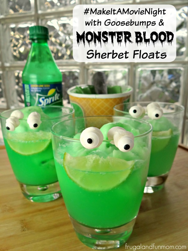Monster Blood Sherbet Floats Recipe Inspired By Goosebumps