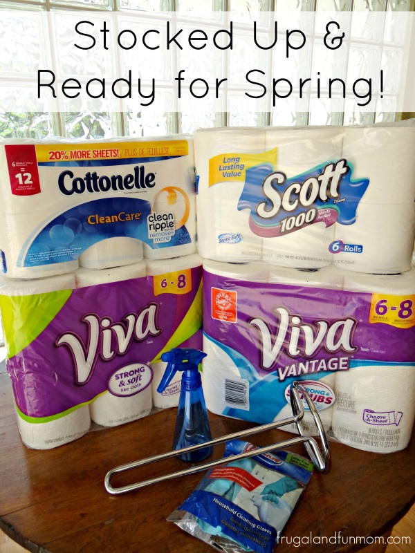 Supplies for Spring Cleaning