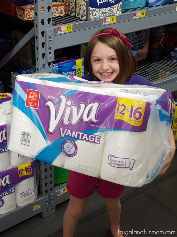 Viva Vantage Big Roll Paper Towels at Walmart