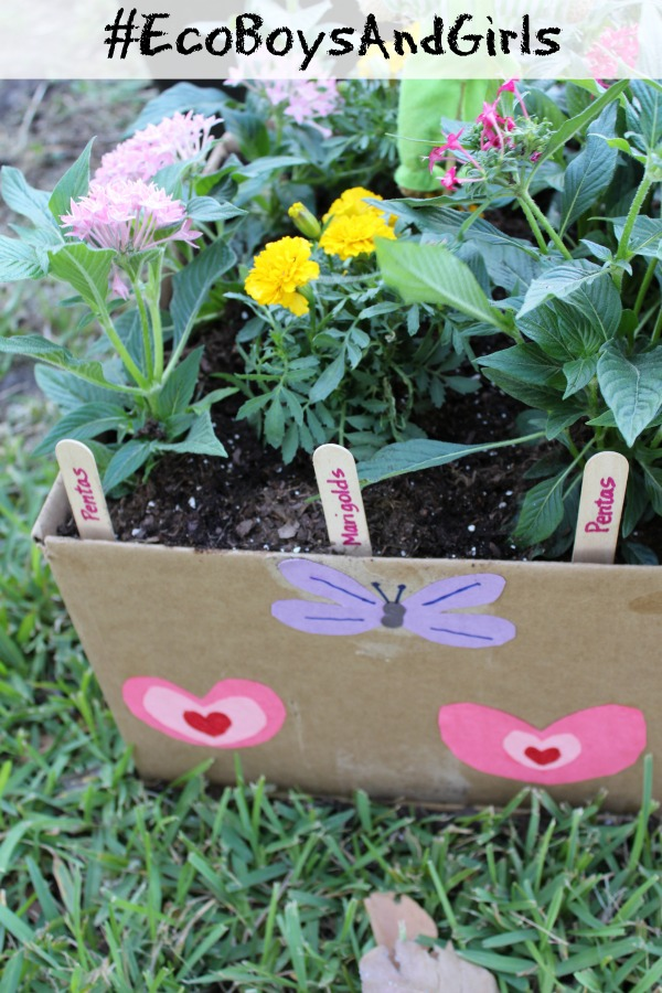 Compostable Cardboard Butterfly Garden Tutorial!