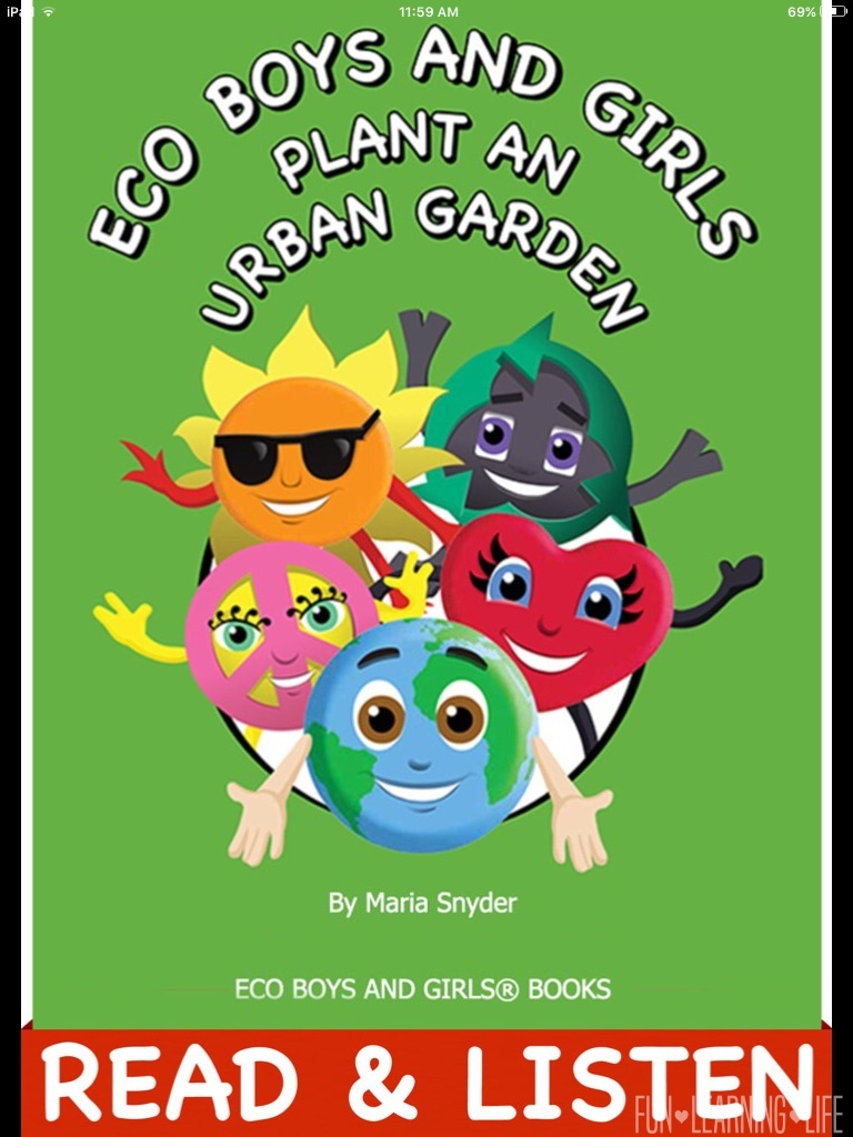 Eco Boys and Girls Plant An Urban Garden Book