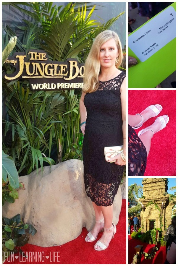 Walking The Jungle Book Red Carpet