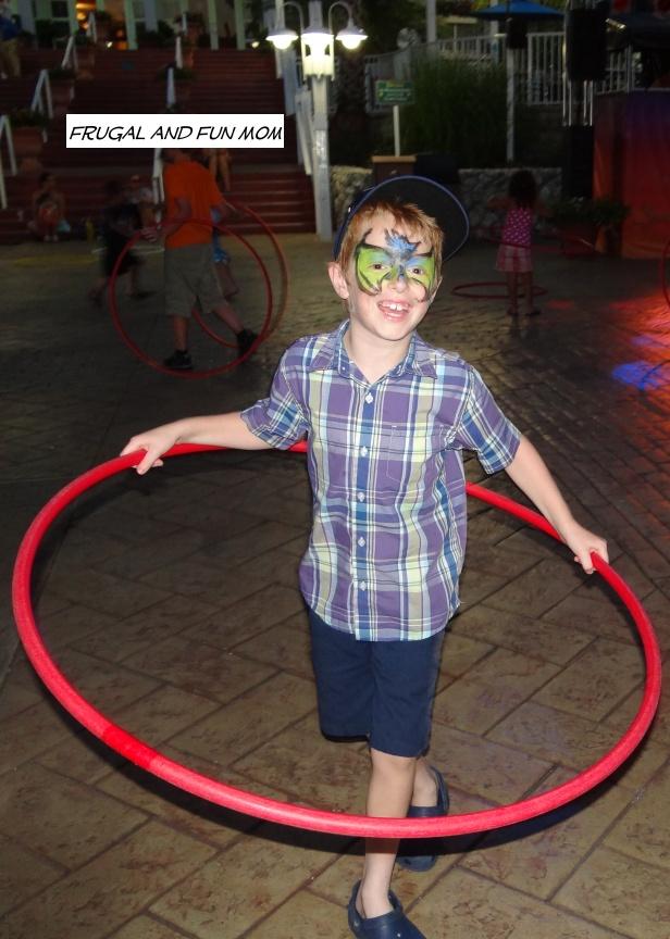 Natural Fun at Busch Gardens at Night