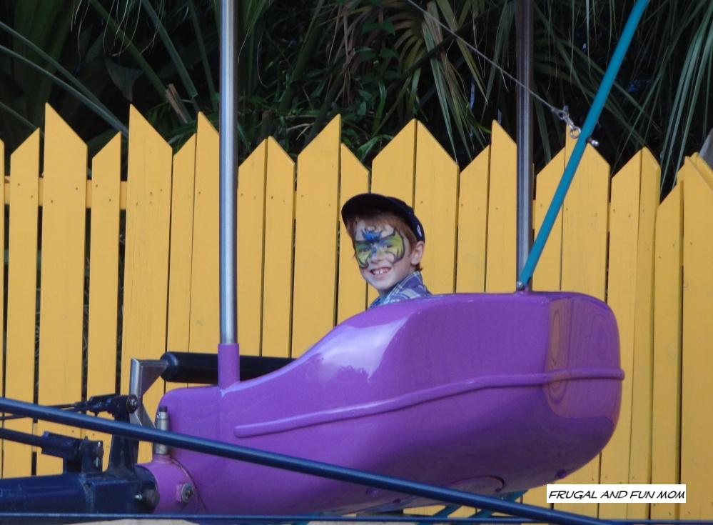 Ride at Busch Gardens