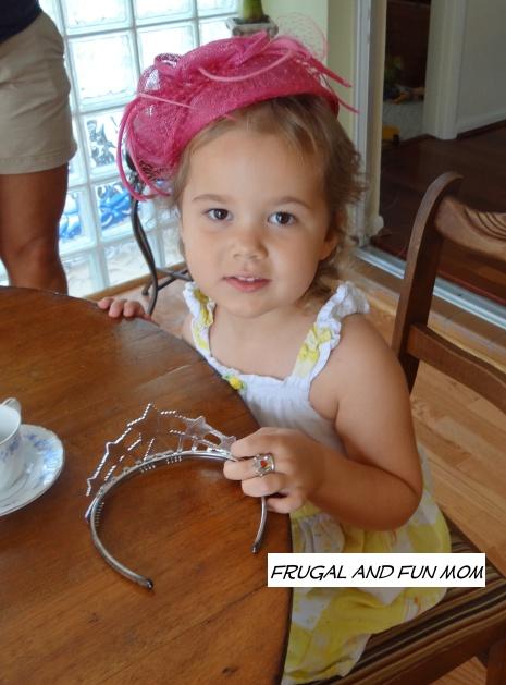 Little Girl in Tea Hat