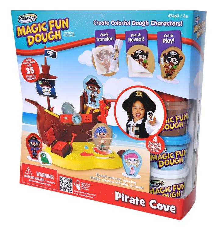 Pirate Cove Magic Fun Dough Kit