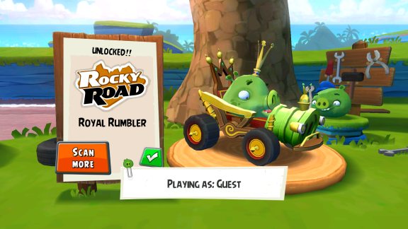 Screenshot Angry Birds GO!
