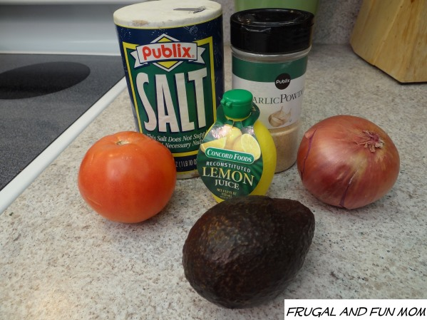 Ingredients for Homemade Guacamole