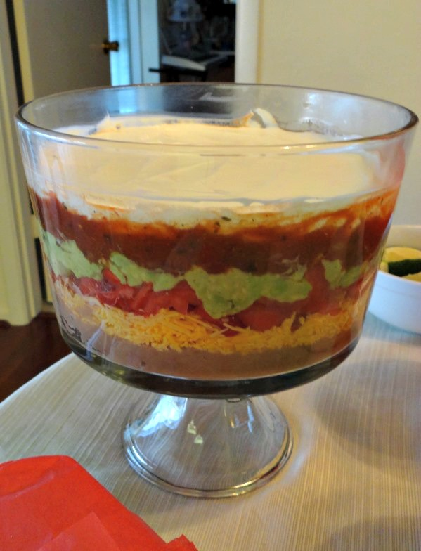Cinco de Mayo 6 Layer Bean Dip Photo