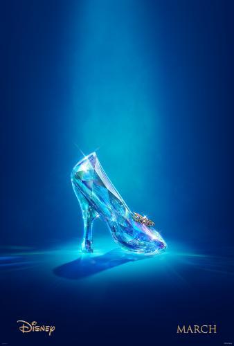 Cinderella Glass Slipper Movie #Cinderella