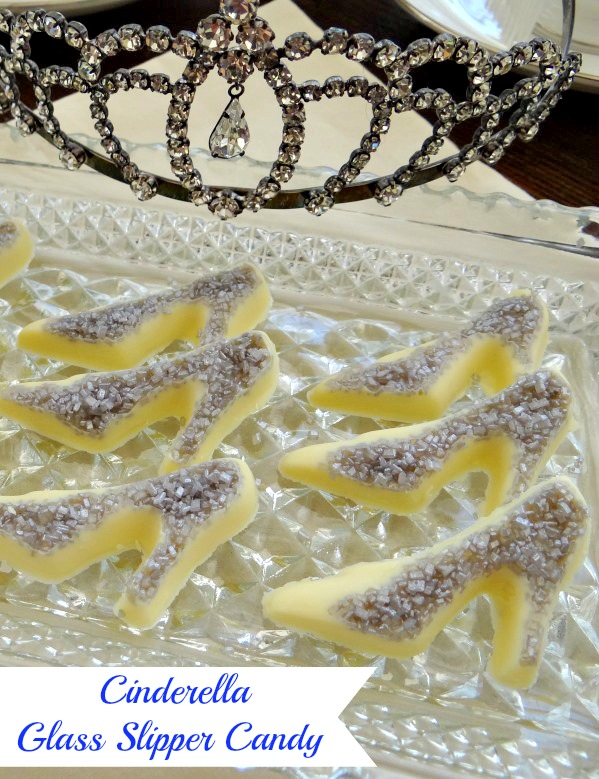 Disney Cinderella Inspired Glass Slipper Candy