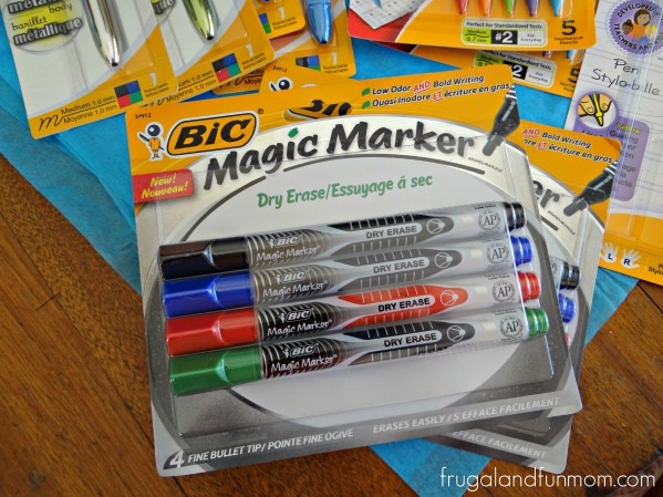 Teacher Appreciation Basket Bic Dry Erase Markers