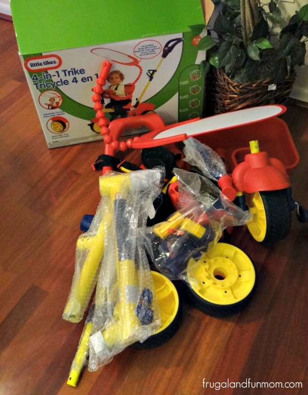 Assembling Little Tikes 4 in 1 Trike
