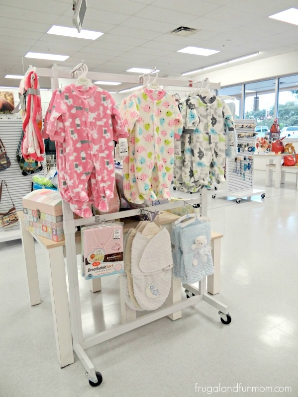 In store display for Bealls Outlet Baby Event Items